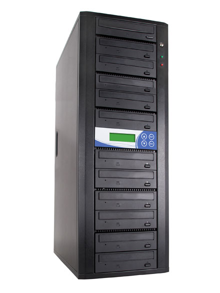 1 to 11 CD DVD Duplicator